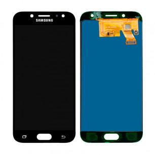 Дисплей Samsung J530 Galaxy J5 Pro 2017, с тачскрином, TFT (с регулируемой подсветкой), Black