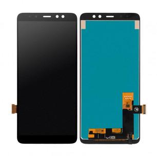 Дисплей Samsung A730 Galaxy A8 Plus 2018, с тачскрином, INCELL, Black