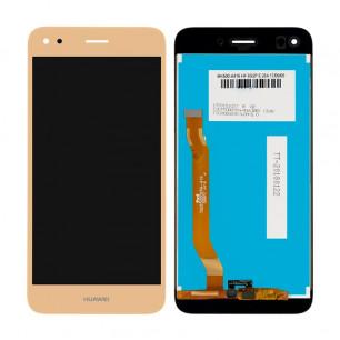 Дисплей Huawei Nova Lite 2017, P9 Lite mini, Y6 Pro 2017, Enjoy 7 (SLA-L02, SLA-L22, SLA-L03), с тачскрином, High Copy, Gold