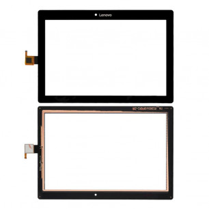 Сенсор (тачскрин) Lenovo Tab 2 A10-30, X30F, High Copy, Black