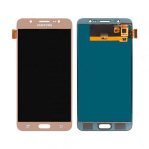 Дисплей Samsung J710F Galaxy J7, J710H Galaxy J7 2016, TFT (подсветка - original), с тачскрином, Gold
