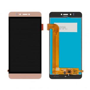 Дисплей Prestigio MultiPhone 3531 Muze E3, MultiPhone 7530 Muze A7, MultiPhone PSP 3530 Muze D3, с тачскрином, Gold