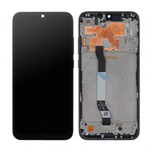 Дисплей Xiaomi Redmi Note 8, с тачскрином, с рамкой, Original PRC, Black