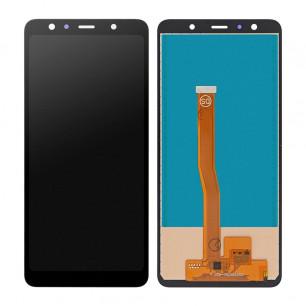 Дисплей Samsung A750 Galaxy A7 2018, с тачскрином, INCELL, Black