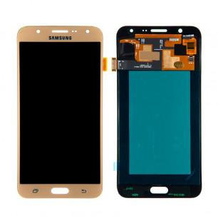 Дисплей Samsung J700 Galaxy J7, с тачскрином, OLED, Gold