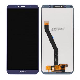 Дисплей Huawei Y6 2018 (ATU-L21), Y6 Prime 2018 (ATU-L31), Honor 7A Pro (AUM-L29), Honor 7C (AUM-L41), с тачскрином, Original PRC, Blue