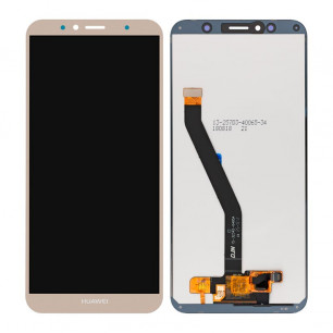 Дисплей Huawei Y6 2018 (ATU-L21), Y6 Prime 2018 (ATU-L31), Honor 7A Pro (AUM-L29), Honor 7C (AUM-L41), с тачскрином, Original PRC, Gold