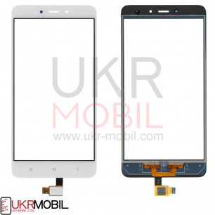 Сенсор (тачскрин) Xiaomi Redmi Note 4, White
