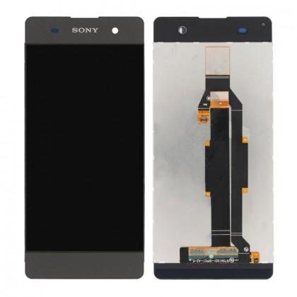 Дисплей Sony F3111 Xperia XA, F3112 Xperia XA Dual, F3113 Xperia XA, F3115 Xperia XA, F3116 Xperia XA Dual, с тачскрином, Black - ukr-mobil.com