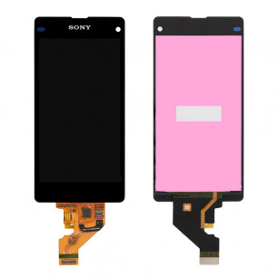Дисплей Sony D5503 Xperia Z1 Compact, с тачскрином, Black