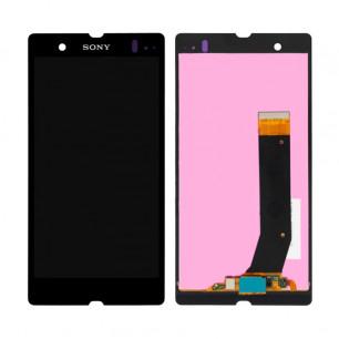 Дисплей Sony C6602 L36h Xperia Z, C6603 L36i Xperia Z, C6606 L36a Xperia Z, с тачскрином, Black