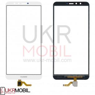 Сенсор (тачскрин) Huawei Y9 2018 (FLA-LX1, FLA-LX2, FLA-LX3), Enjoy 8 Plus, White