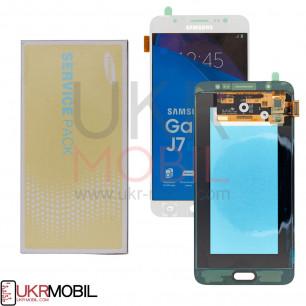Дисплей Samsung J710 Galaxy J7 2016 GH97-18855C (SERVICE PACK) с тачскрином White