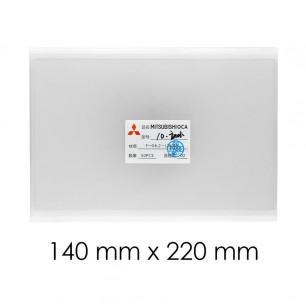 OCA пленка 140 mm х 220 mm, 10 inch, 250 um, (упаковка 50 шт.)