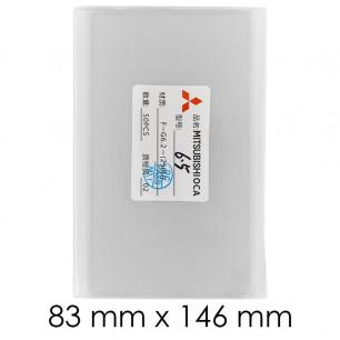 OCA пленка, 83 mm х 146 mm, 6.5 inch, 250 um, (упаковка 50 шт.)