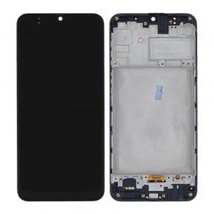 Дисплей Samsung M307 Galaxy M30s, с тачскрином, с рамкой, OLED, Black
