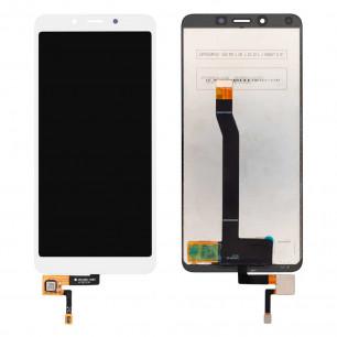 Дисплей Xiaomi Redmi 6, Redmi 6A, с тачскрином, High Copy, White
