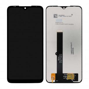 Дисплей Motorola XT2015 Moto G8 Play, с тачскрином, Original PRC, Black