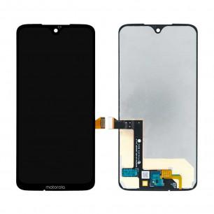 Дисплей Motorola XT1962 Moto G7, XT1965 Moto G7 Plus, с тачскрином, Black