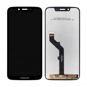 Дисплей Motorola XT1952 Moto G7 Play, с тачскрином, Original PRC, Black