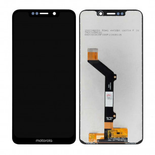 Дисплей Motorola XT1941-4 Moto One, XT1941-2 Moto P30 Play, с тачскрином, Original PRC, Black