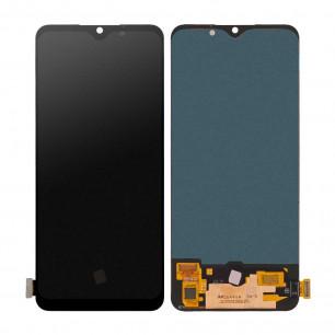 Дисплей Oppo A91, Reno 3, с тачскрином, OLED, Black