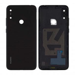 Задняя крышка Huawei Y6 2019 (MRD-LX1), Y6 Prime 2019, со стеклом камеры, Original PRC, Black