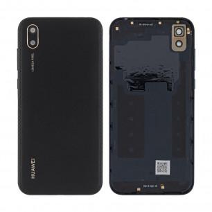 Задняя крышка Huawei Y5 2019 (AMN-LX9/AMN-LX1/AMN-LX2/AMN-LX30), со стеклом камеры, High Copy, Modern Black