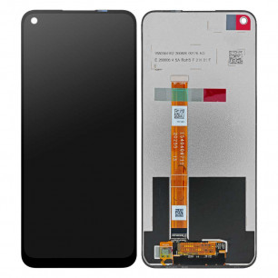Дисплей Oppo A32 2020, A53, Realme 7i, с тачскрином, Original, Black