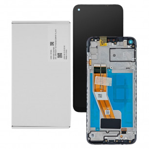 Дисплей Samsung M115 Galaxy M11 2020, GH81-18736A, с тачскрином, рамкой, Service Pack Original