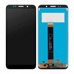 Дисплей Huawei Y5P 2020 (DRA-LX9), Honor 9S (DUA-LX9), с тачскрином, Original PRC, Black
