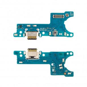 Шлейф Samsung A115 Galaxy A11, с разъемом зарядки, микрофоном, Original PRC