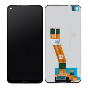 Дисплей Nokia 3.4 TA-1283, с тачскрином, Original, Black