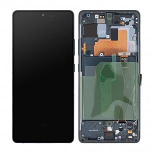 Дисплей Samsung G770 Galaxy S10 Lite, с тачскрином, рамкой, Original, Black