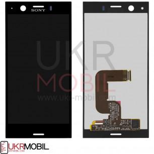 Дисплей Sony G8441 Xperia XZ1 Compact, с тачскрином, Black