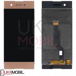 Дисплей Sony G3112 Xperia XA1 Dual, G3116 Xperia XA1, G3121 Xperia XA1, G3125 Xperia XA1, с тачскрином, Pink