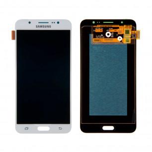 Дисплей Samsung J710F Galaxy J7 2016, J710H Galaxy J7 2016, с тачскрином, OLED, White
