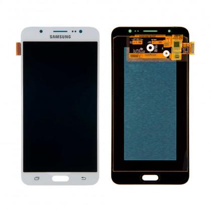 Дисплей Samsung J710F Galaxy J7 2016, J710H Galaxy J7 2016, с тачскрином, OLED, White - ukr-mobil.com