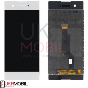 Дисплей Sony G3112 Xperia XA1 Dual, G3116 Xperia XA1, G3121 Xperia XA1, G3125 Xperia XA1, с тачскрином, White