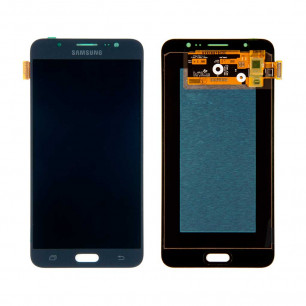 Дисплей Samsung J710F Galaxy J7 2016, J710H Galaxy J7 2016, с тачскрином, OLED, Black