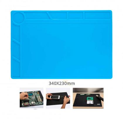 Антистатический, термостойкий коврик для пайки (силиконовый) S120 - ukr-mobil.com