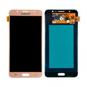 Дисплей Samsung J710F Galaxy J7, J710H Galaxy J7 2016, TFT, с тачскрином, Gold