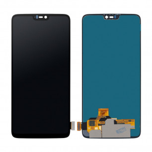 Дисплей OnePlus 6, с тачскрином, OLED, Black