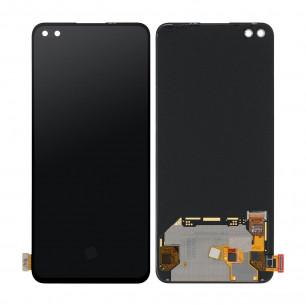 Дисплей OnePlus Nord, с тачскрином, Original, Black