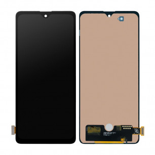 Дисплей Samsung A715 Galaxy A71, с тачскрином, INCELL, Black