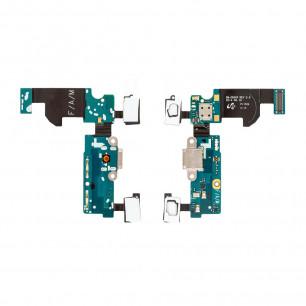 Шлейф Samsung G800F Galaxy S5 mini с разъемом зарядки, микрофоном, Original
