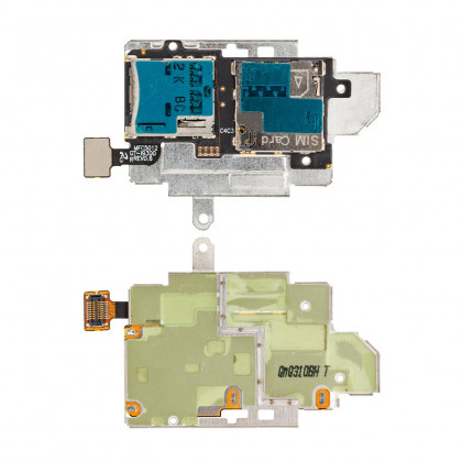 Коннектор sim Samsung i9300 | N5100 | N5120 | T211 | T231 - ukr-mobil.com