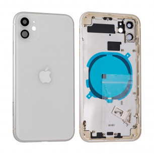 Корпус Apple iPhone 11, в сборе, Original PRC, White
