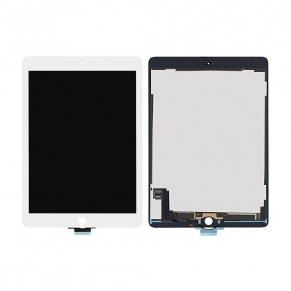 Дисплей Apple iPad Air 2 (A1566, A1567), с тачскрином, Original PRC, White, фото № 1 - ukr-mobil.com