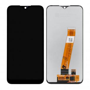 Дисплей Samsung A015 Galaxy A01, с тачскрином, широкий коннектор, Original PRC, Black